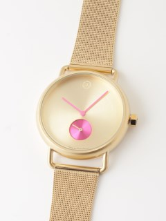 【ユニセックス】腕時計 Luna Gold ルナゴールド メッシュベルト
