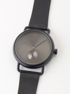 【ユニセックス】腕時計 Luna Matte Black ルナマットブラック メッシュベルト