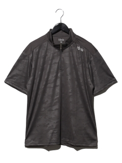 半袖ZIPシャツ