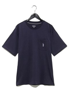 胸ポケット付ロゴTシャツ