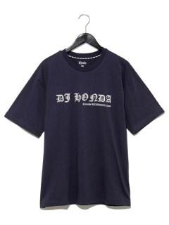 フロントスペルプリントTシャツ