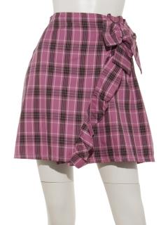 ラップフリルリボンスカート