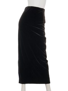 【SIMPLICITE】ベロアロングスカート