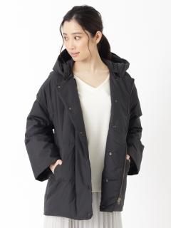 【SIMPLICITE】コクーンガタ ミドルタケコート