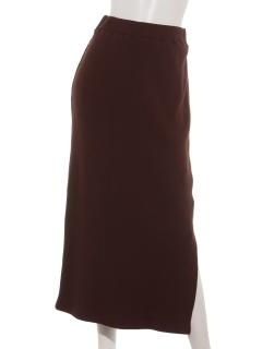 【SIMPLICITE】テレコストレートスカート