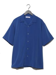 ツイルオープンカラーシャツ