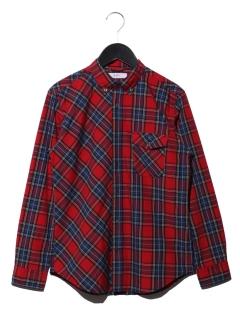 ビッグチェッククレイジーBDシャツ