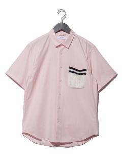ニットポケットシャツS/S