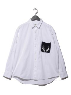 ニットポケット シャツ
