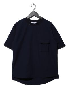 サッカーストライプRIBPOシャツ