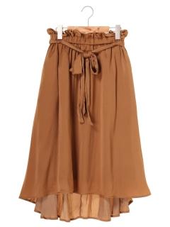 【chocol raffine robe】イレヘムサテンスカート