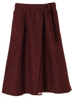 【chocol raffine robe】ラップドットギャザースカート