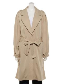 【Wcloset】ボリューム袖コート