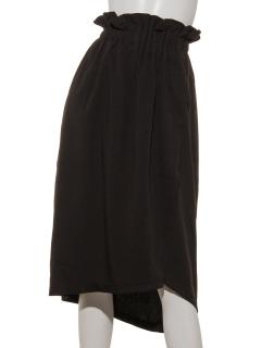 【K】アシメトリーラップスカート