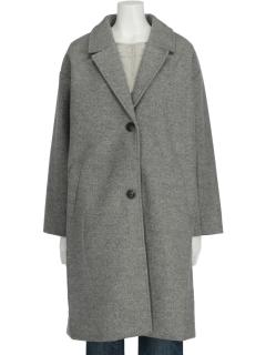 【chocol raffine robe】SET2点 チェスターコート+中綿インナー