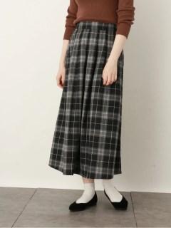 【earthmusic&ecology】タックギャザースカート