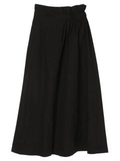 【ELENCAREDUE】ウエストアシメロングスカート