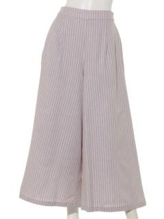 【chocol raffine robe】ストライプタックパンツ