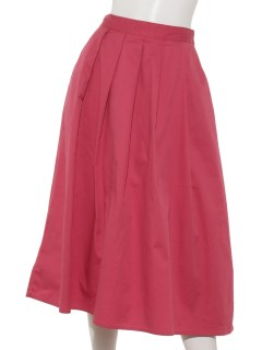 【chocol raffine robe】カラータックスカート