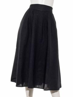 【chocol raffine robe】フレンチリネンタックスカート