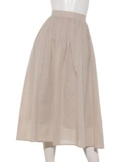 【chocol raffine robe】麻混スカート