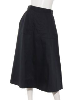 【chocolraffinerobe】ベイカーフレアミディスカート