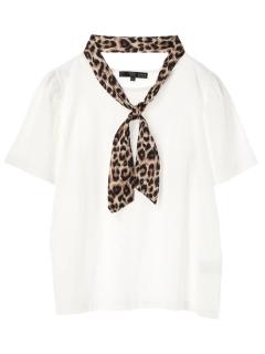 【SUGAR SPOON】スカーフ付フレアスリーブTシャツ