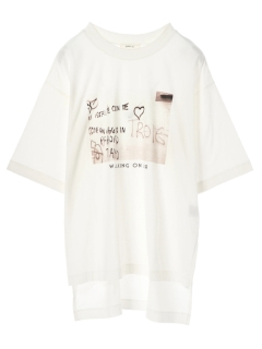 【WEARS】フォトptTシャツチュニック