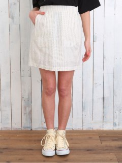 【Ehyphenworldgallery】サッカーストライプタイトスカート
