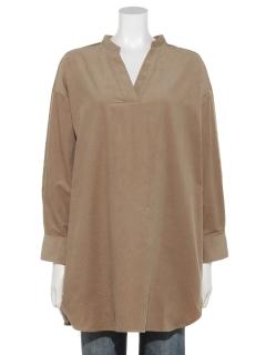 【chocol raffine robe】コーデュロイスキッパーチュニック