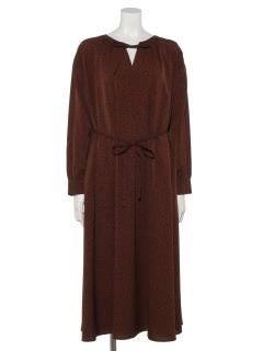 【chocol raffine robe】ランダムドットワンピース