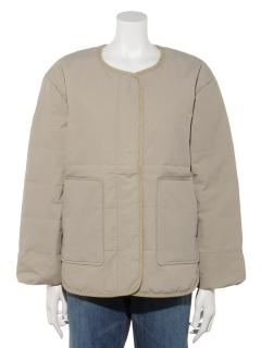 【chocol raffine robe】中綿パイピングショートコート