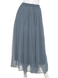 【chocol raffine robe】柄プリーツスカート