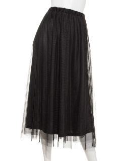 【chocol raffine robe】チュールスカート