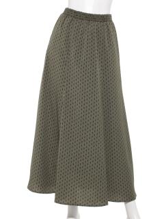 【chocol raffine robe】ダイヤドット柄スカート