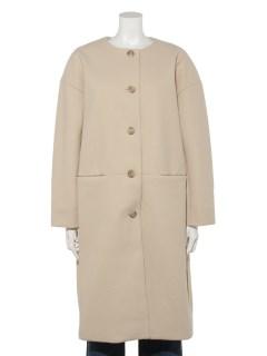 【chocol raffine robe】ノーカラーコート