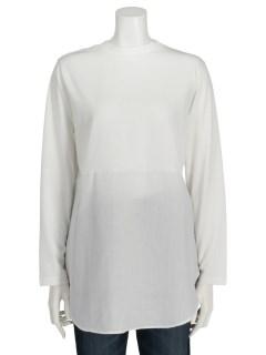 【chocol raffine robe】シャツドッキングクルーネックインナー