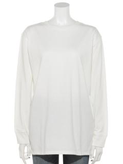 【chocol raffine robe】ホワイトインナークルーネックストレート