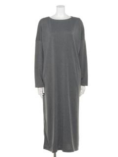 【chocol raffine robe】ボートネックカットワンピース