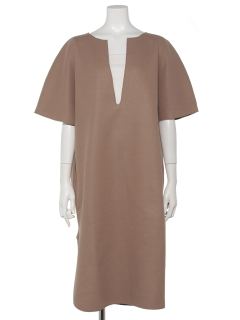 【chocol raffine robe】ライトメルトンスキッパーワンピース