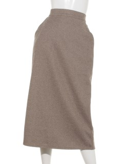 【chocol raffine robe】カットタイトスカート