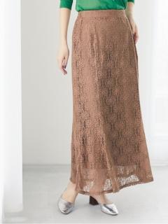 【Petit Fleur】 レースマーメイドスカート
