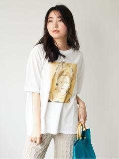 【SUGAR SPOON】ビジュー×レディptTシャツ