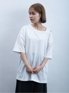 【E hyphen world gallery】アシメルーズTシャツ