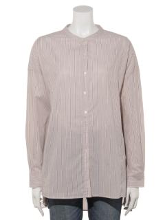 【chocol raffine robe】ストライプビッグシャツチュニック