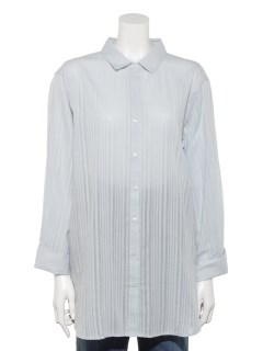 【chocol raffine robe】シャドーストライプチュニック