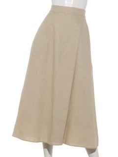 【chocol raffine robe】リネンナロースカート