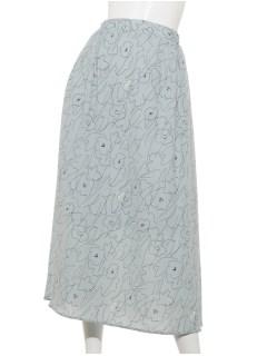 【chocol raffine robe】線画フレアスカート