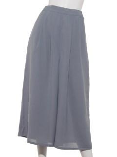 【chocol raffine robe】ツータックガウチョパンツ