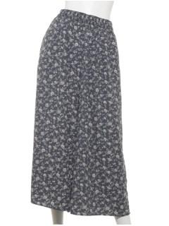 【chocol raffine robe】花柄ガウチョパンツ